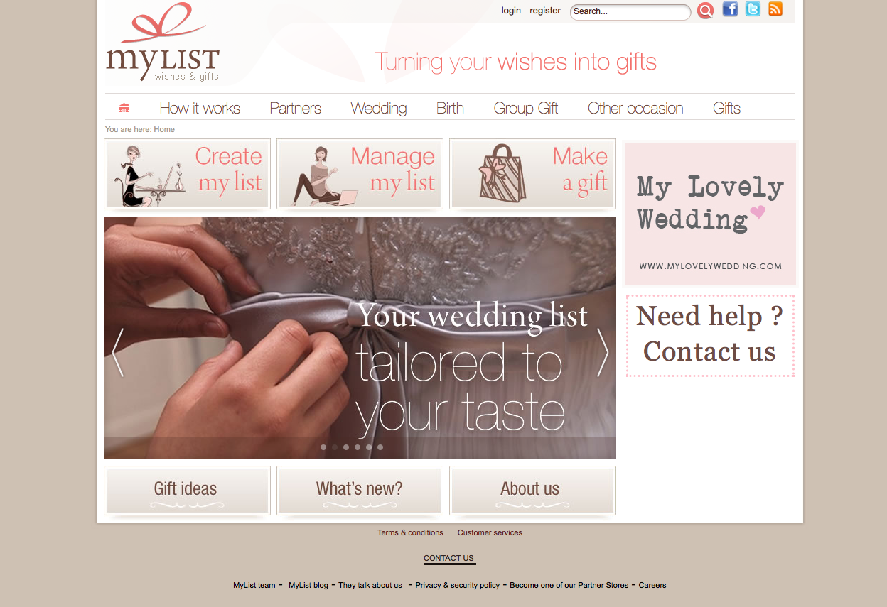 Wedding Gift List Uae : Ideas Online Wedding Gift List mylist 1st online gift registry uae ...