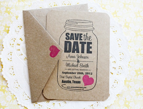 be creative save the date