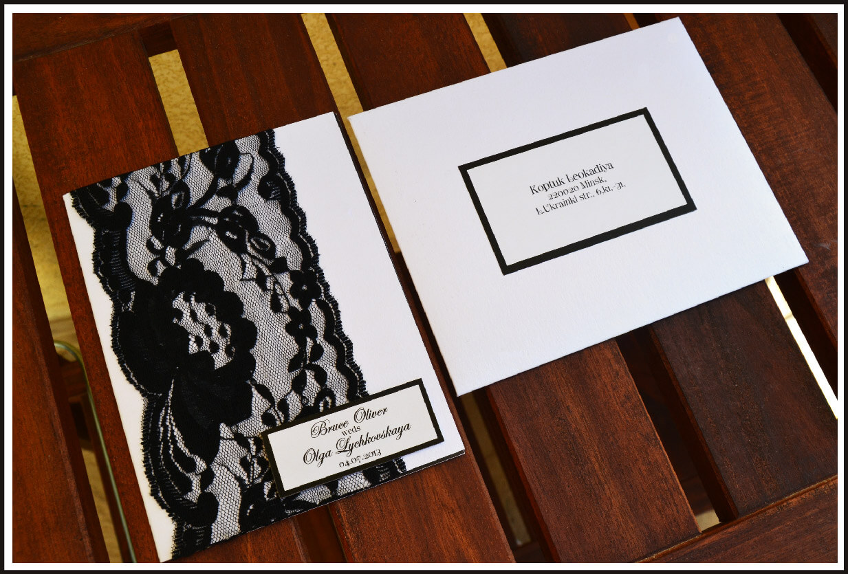 Wedding invitations by creative box the 2nd invitation was a design stopboris Choice Image
