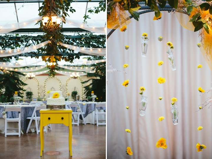 A mustard yellow & grey winter wedding ♥