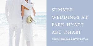 Park Hyatt - Wedding Venue - Abu Dhabi