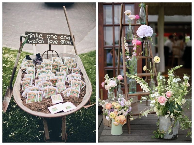 Rustic theme wedding ideas