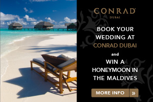Dubai wedding venue - Conrad