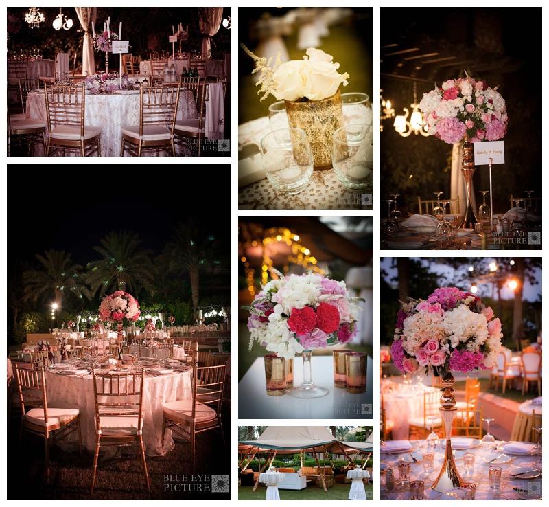 Gold & Pink Arab Wedding