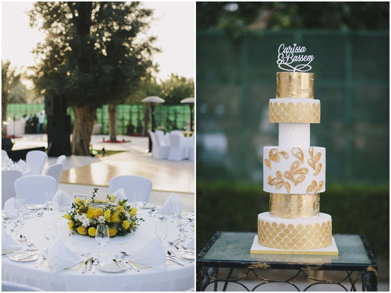 carissa and bassams wedding at the desert palm hotel dubai - Olive Garden Palm Desert
