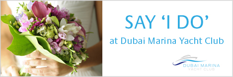 Dubai Marina Yacht Club - Dubai wedding venue
