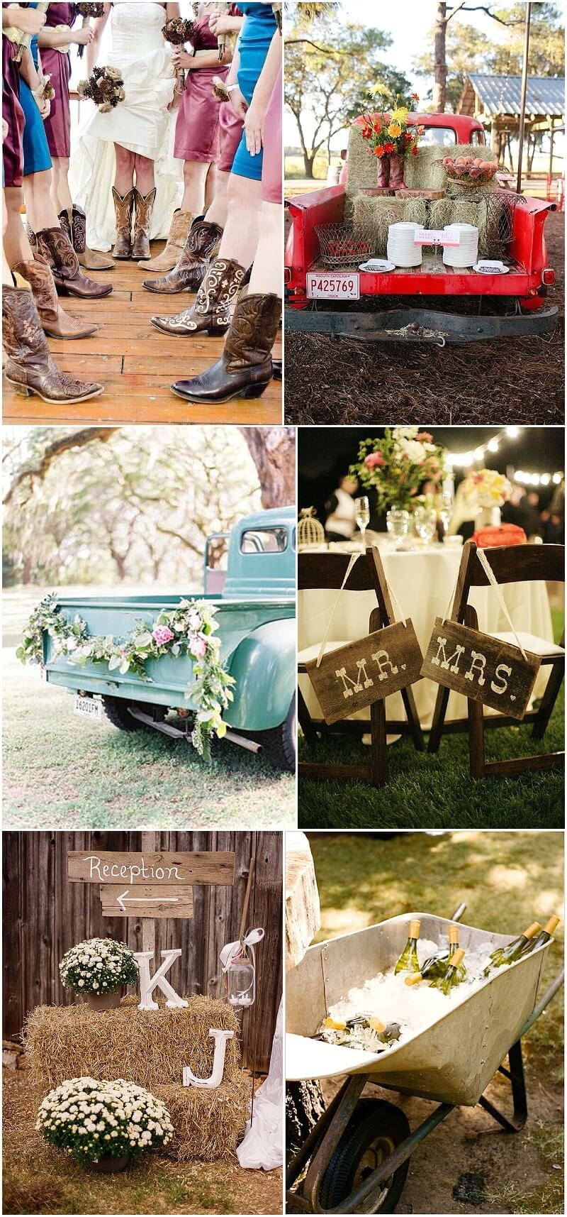 Elegant Country Wedding Inspiration