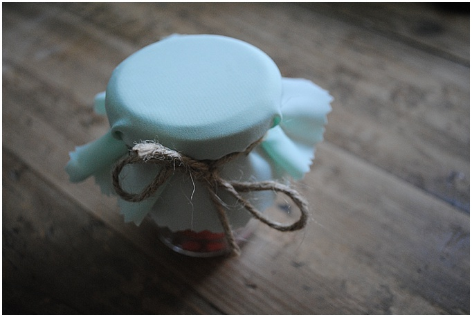 DIY wedding favors - created for a bride in Dubai
