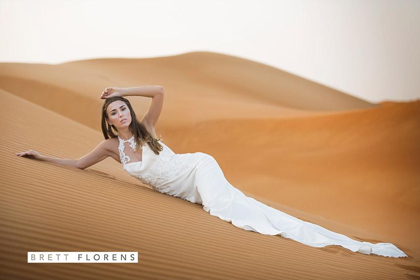 Desert styled shoot - Photography by Brett Florens