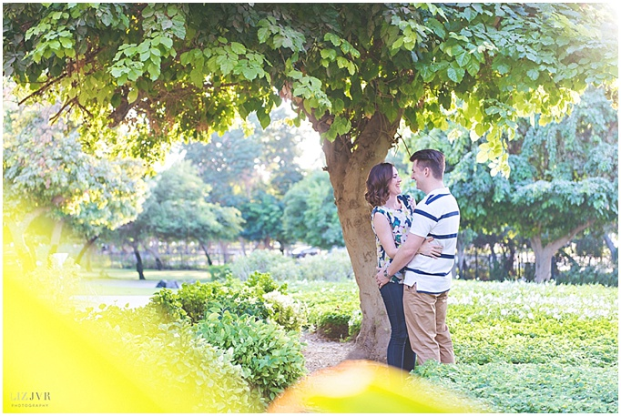 Photography by Liz JVR - A Dubai engagement shoot for a lovely Dubai bride and groom.