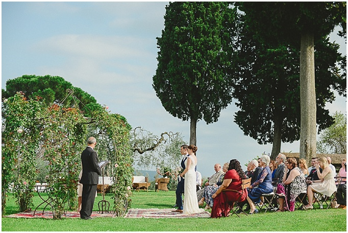 Rustic wedding in Tuscany - Featured on My Lovely Wedding Blog.