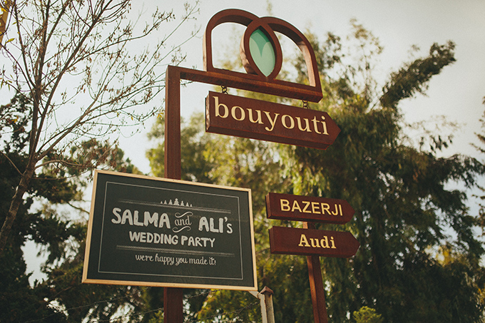 Salma & Ali's rustic wedding in Lebanon…