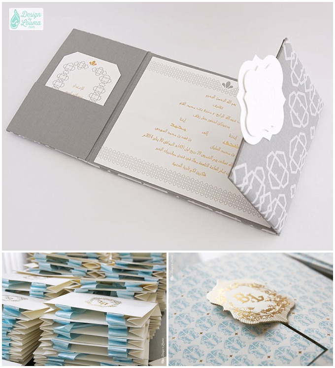 Design by Louma - Luxury wedding stationery