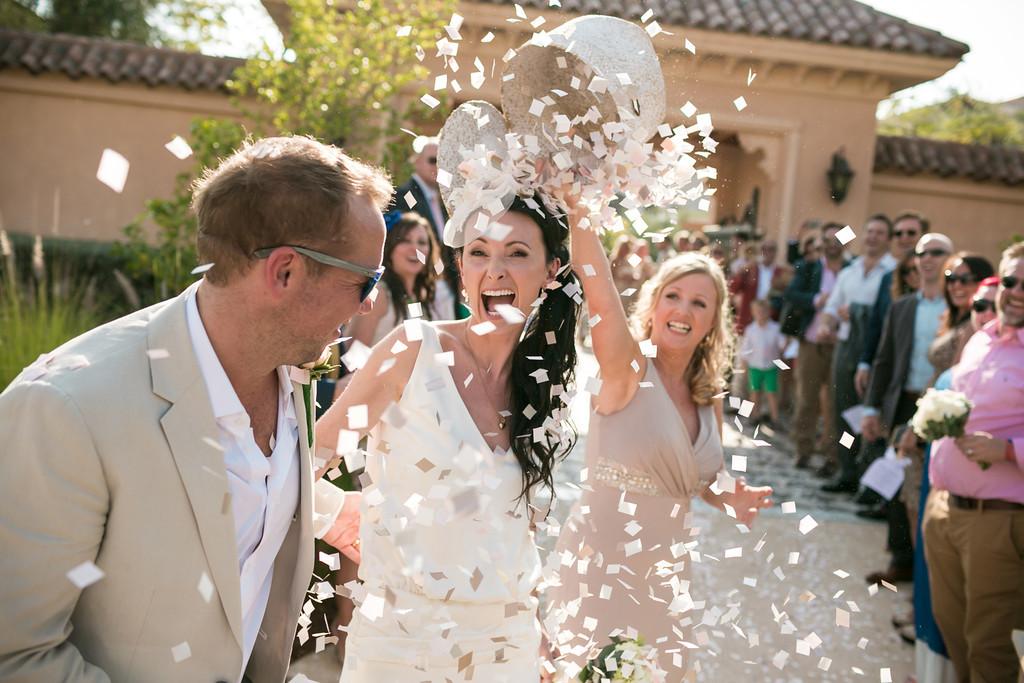 Goldfish Photography - Palm wedding