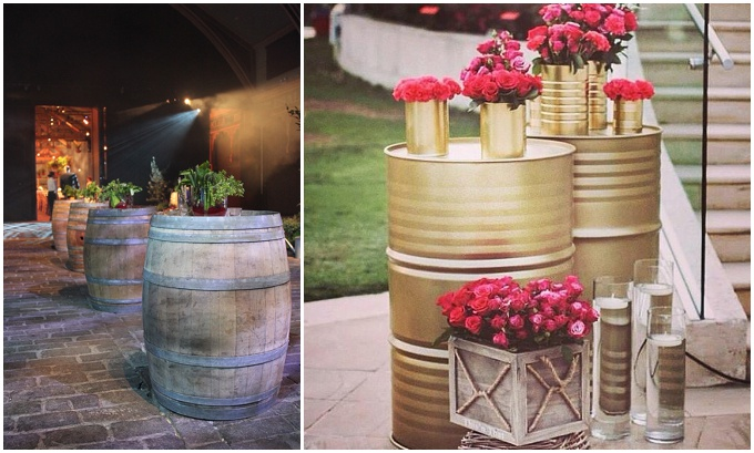 Furniture Rentals For A Rustic Wedding