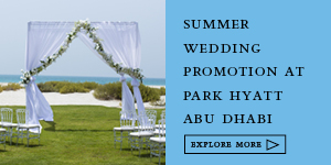PARK HYATT WEDDING - ABU DHBAI