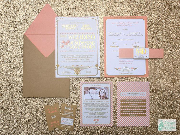 Design by Louma – Luxury Wedding Stationery