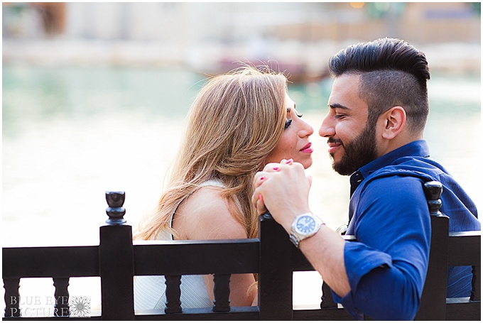 Engagement shoot in Dubai - Photography by Blue Eye Picture
