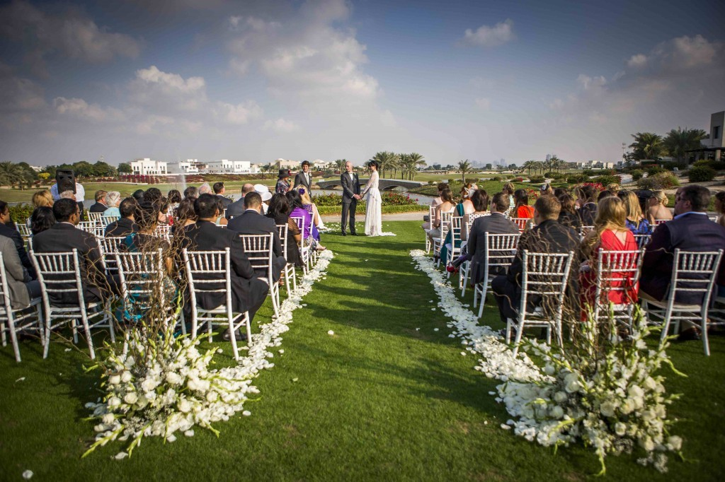 The Address Montgomerie Dubai– Best for outdoor weddings large or small