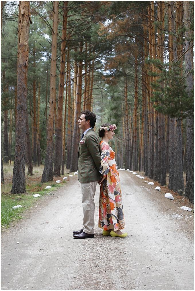 Leafhopper Weddings - WOODLAND WEDDING , MADRID SPAIN