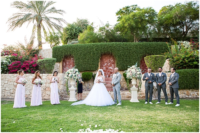 A garden wedding at Desert Palm Resort Spa Planned by Masha