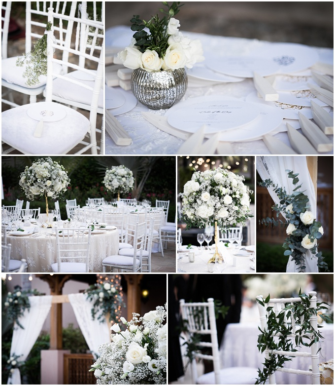 Flowers for Dubai wedding - Lovely Styling & Firenza Flora