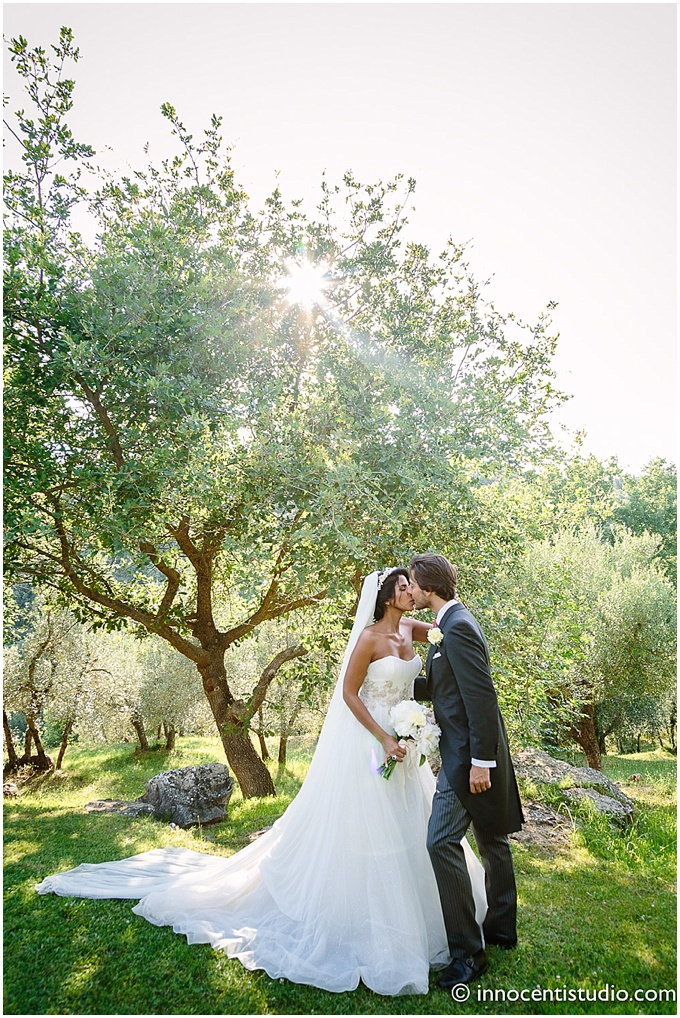 Wedding in Italy featured on Dubai wedding blog. Rustic elegance with amazing stationery.