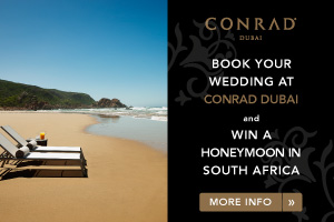 Wedding venue - Conrad Dubai