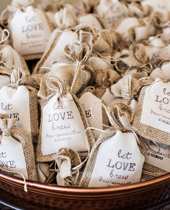 Wedding favour inspiration…