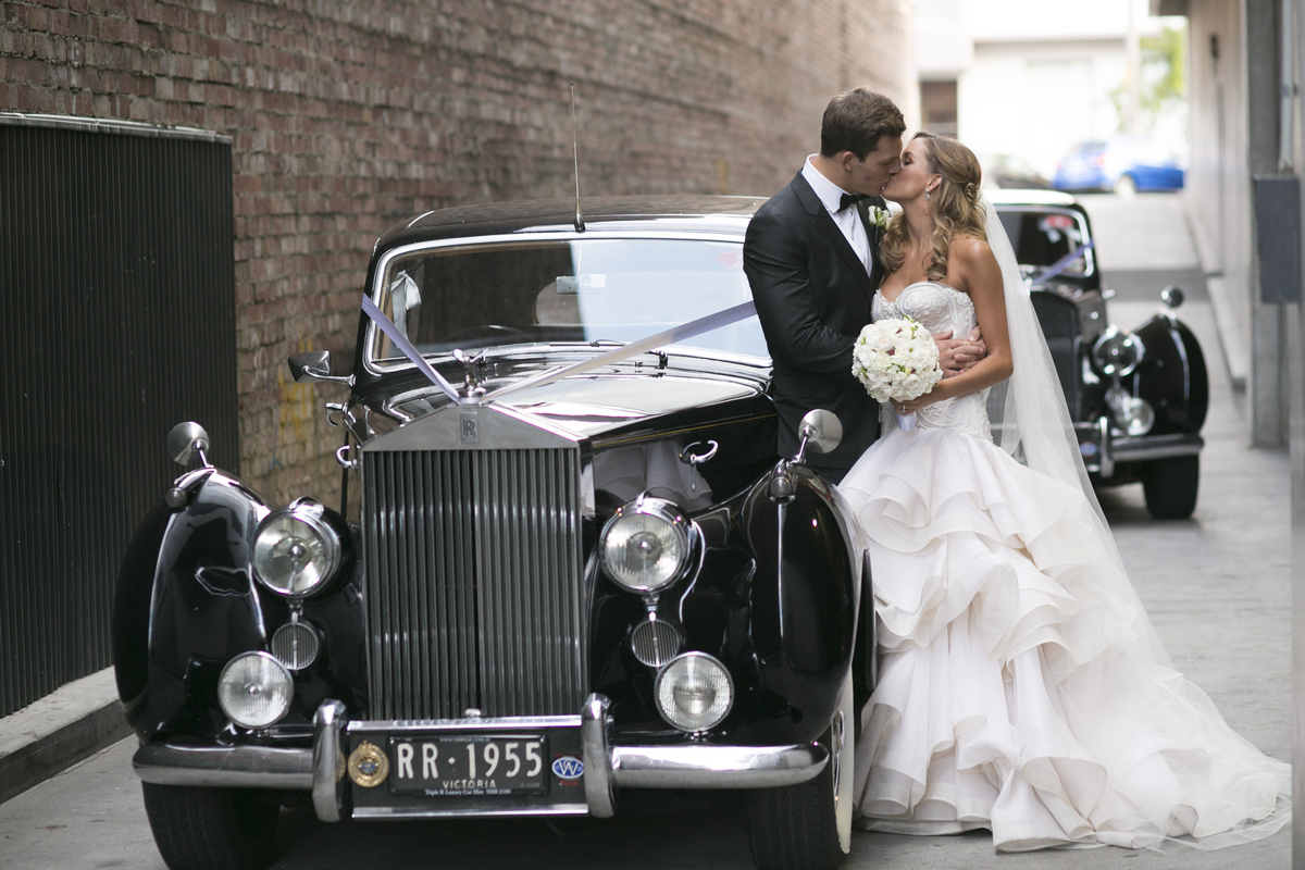 A timeless real wedding…Luke & Madeleine in Melbourne {Blumenthal Photography}