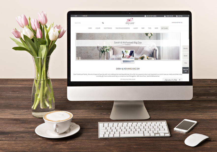MyList.ae has a new website! The UAE's first online gift registry just got prettier…