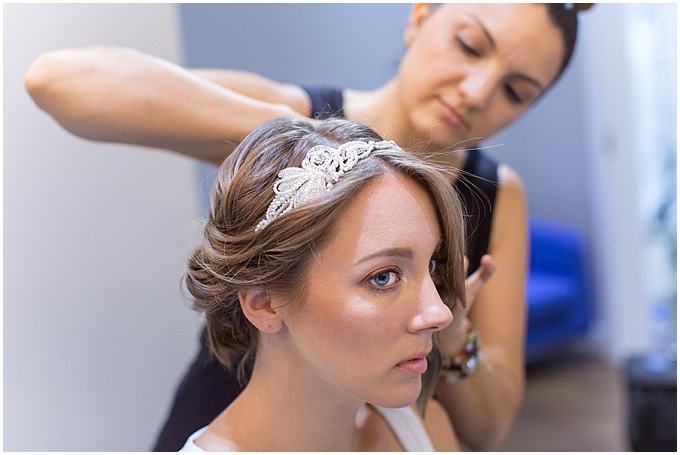 Short hair don't care: Short hairstyles for brides by Monica at MHG Beauty