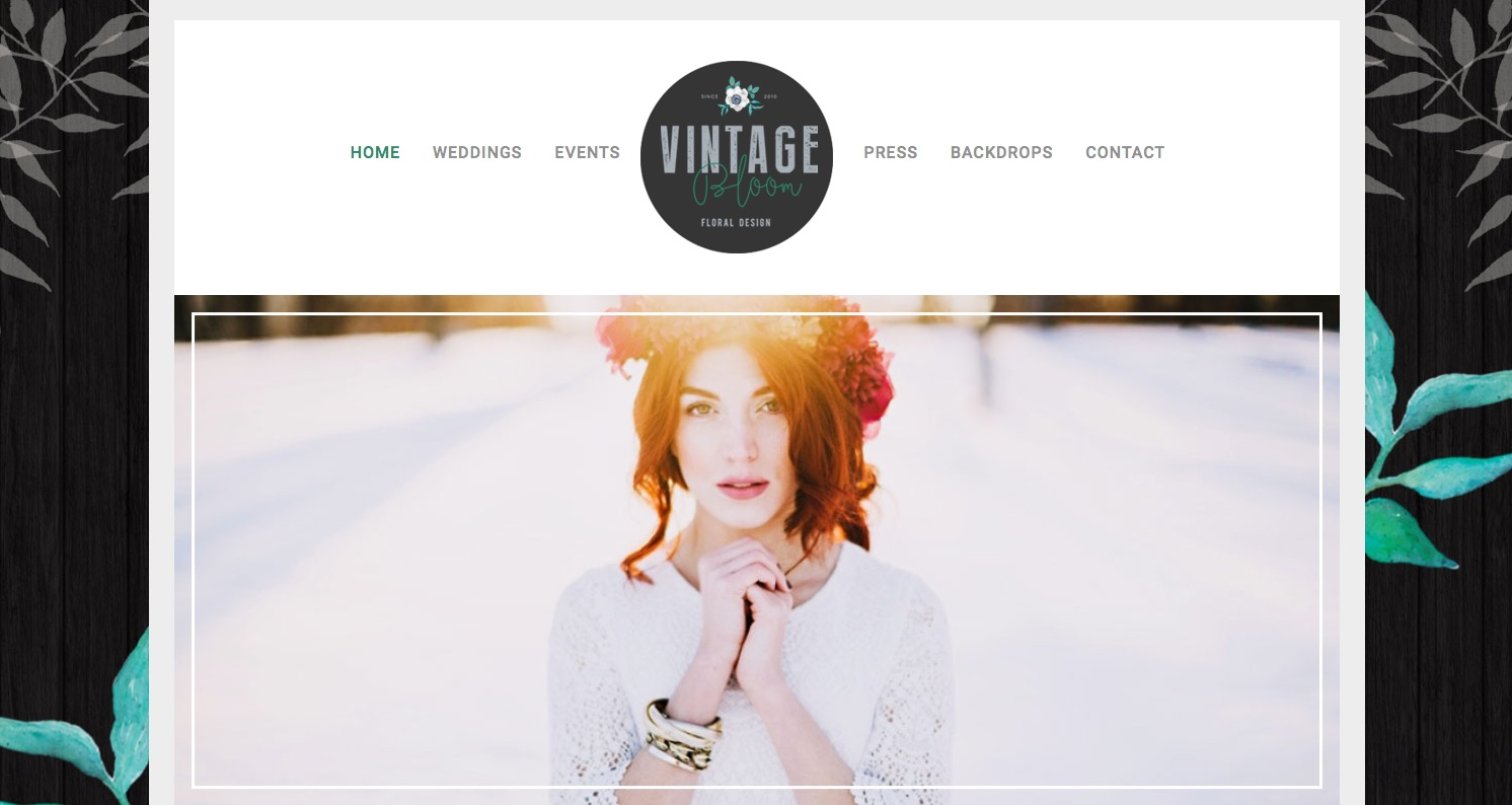 Vintage Bloom have a new website!