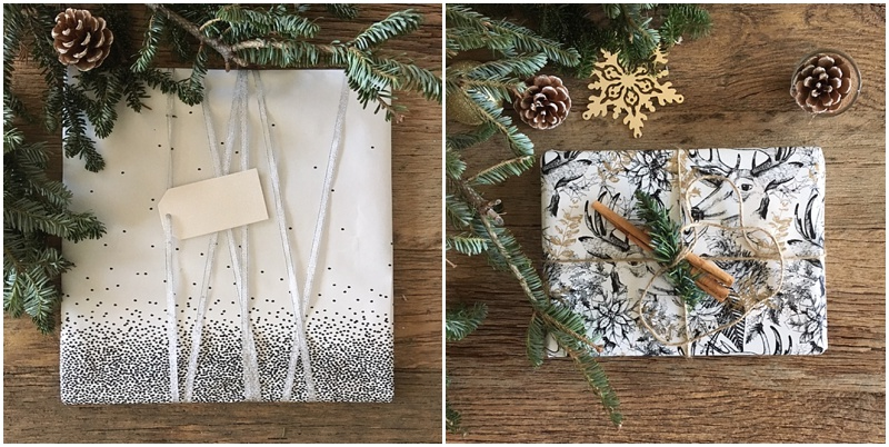 Christmas wrapping ideas - festive wrapping