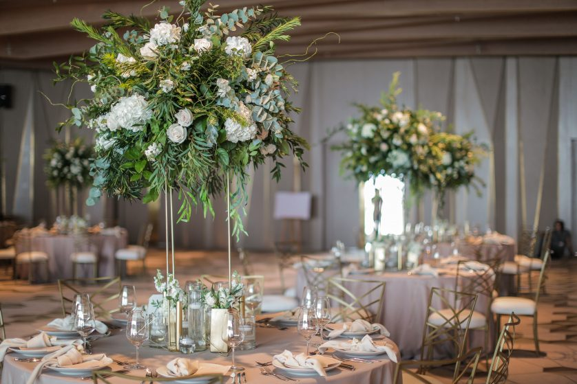 MY LOVE FOR GREENERY AT WEDDINGS… { K + Z's WEDDING AT FIVE PALM JUMEIRAH }