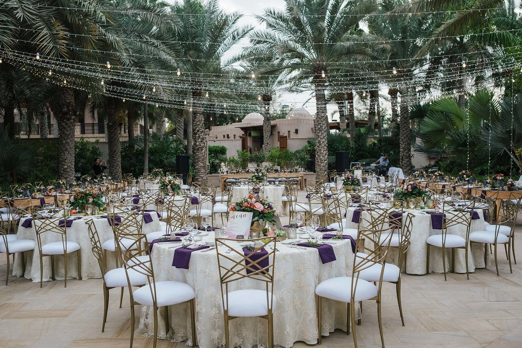 MAGNOLIA AL QASR - MY LOVELY WEDDING IN DUBAI - STRING LIGHTS + DECOR