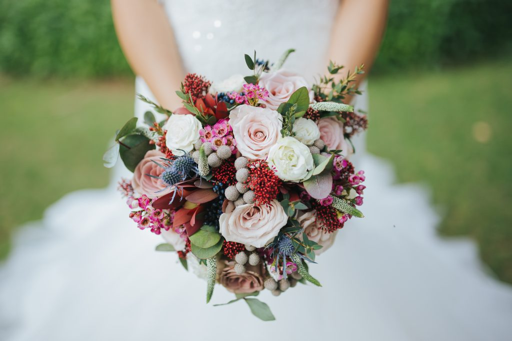 Bridal Bouquet by Vintage Bloom in Dubai