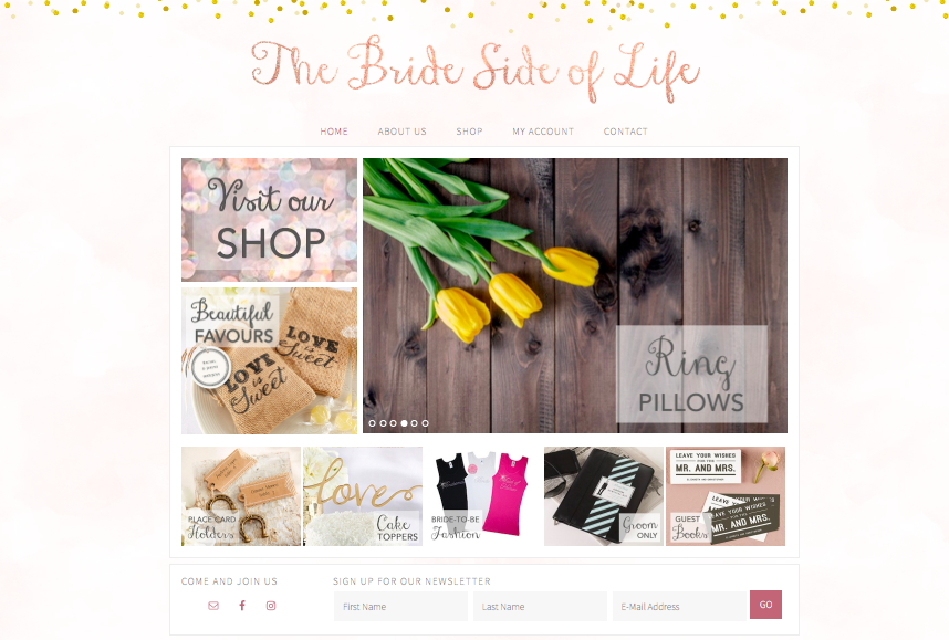 The Bride Side of Life - Dubai wedding shop