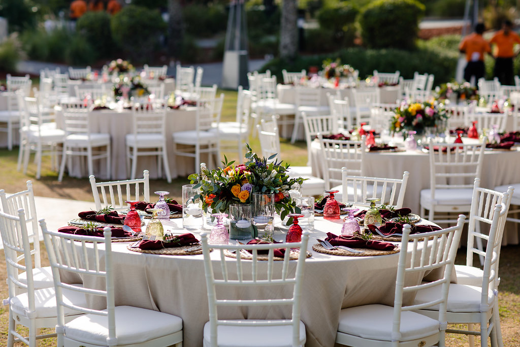 Colourful wedding at The Address Montgomerie