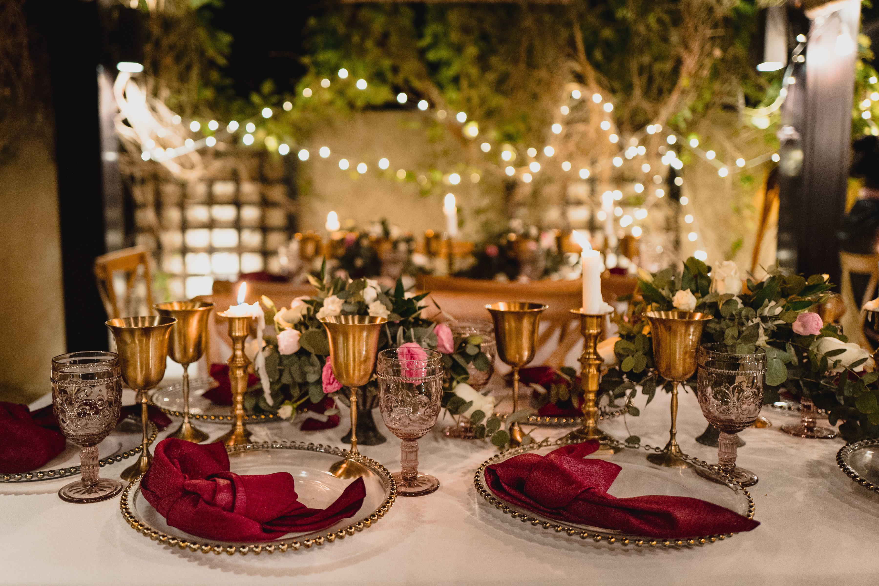 Private engagement party - Dubai bride