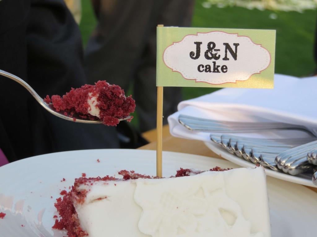 Cake - Cake flag by Creative Box