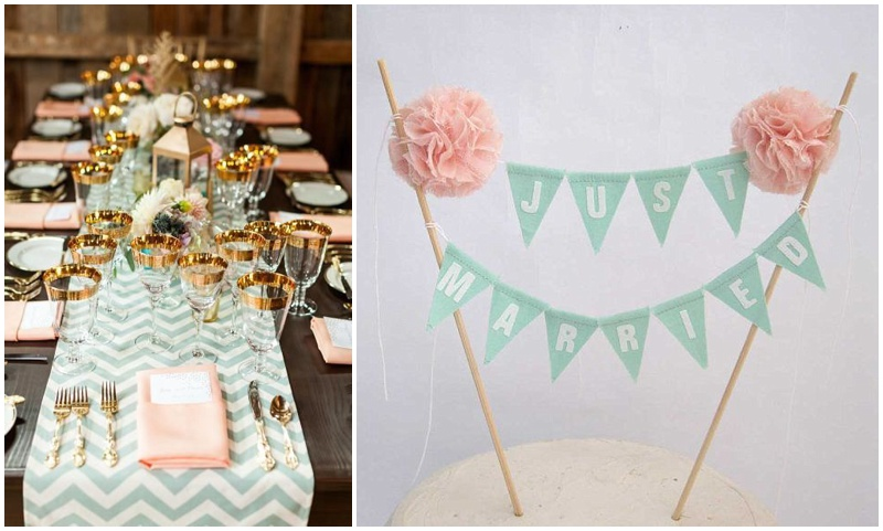 A hint of mint – {Wedding Inspiration}
