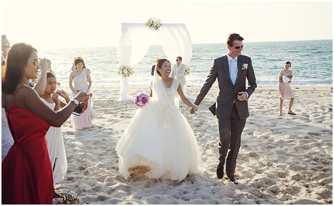 A gorgeous beach wedding at Zaya Nurai Island, Abu Dhabi
