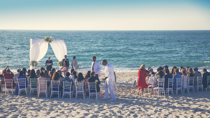 A wedding at Zaya Nurai Island, Abu Dhabi