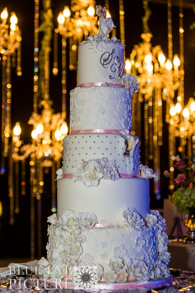 Dubai Wedding Cake - Desert Palm Wedding - Fabulous Day Wedding Planner