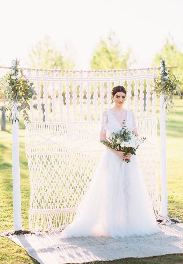 Inspiration: The Alternative Wedding Arch
