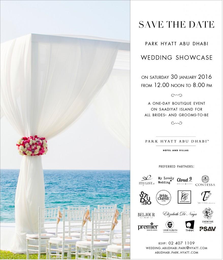 Wedding Showcase Save the Date 2016