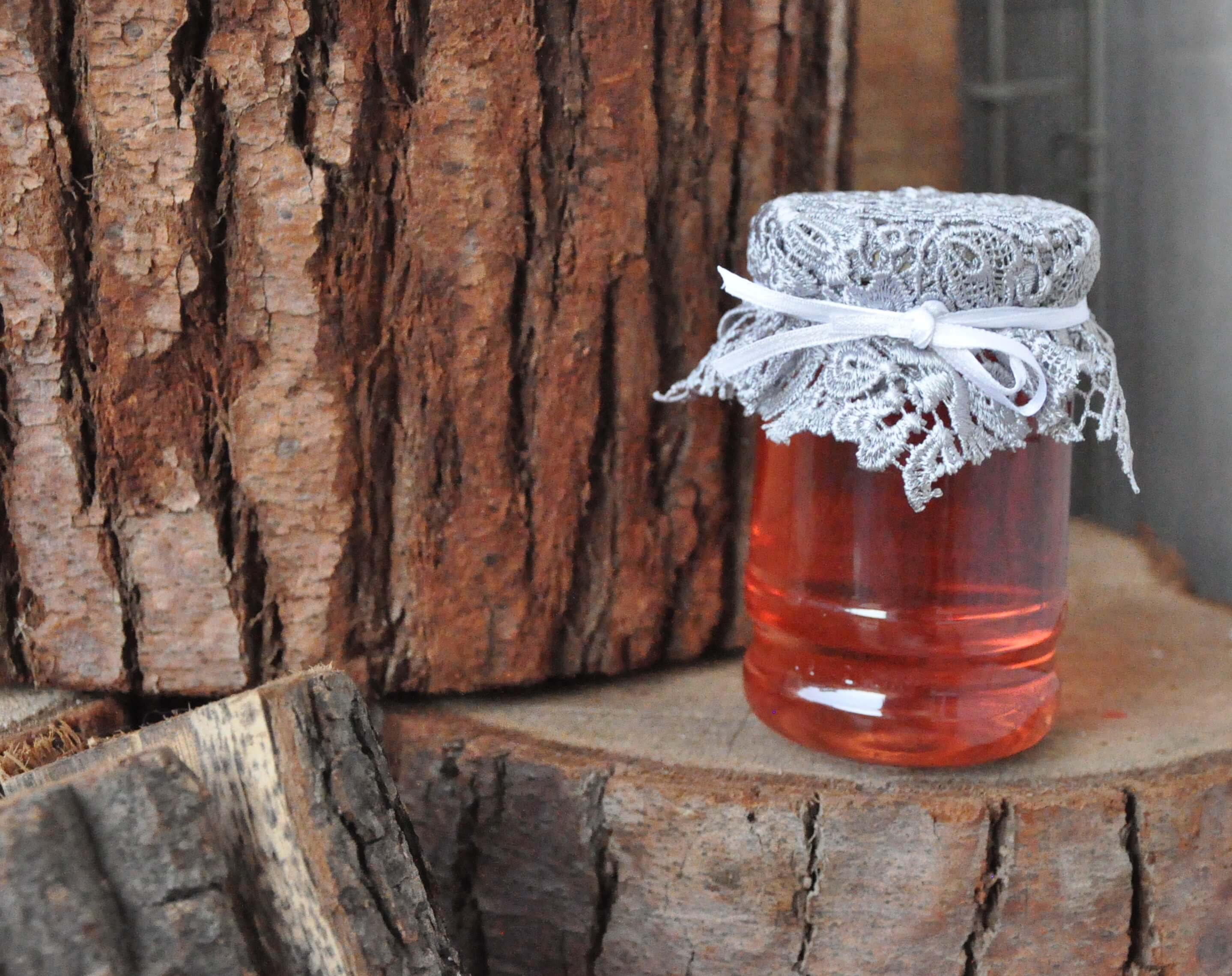 DIY Jars of Rosewater by Katie {My very lovely Intern}