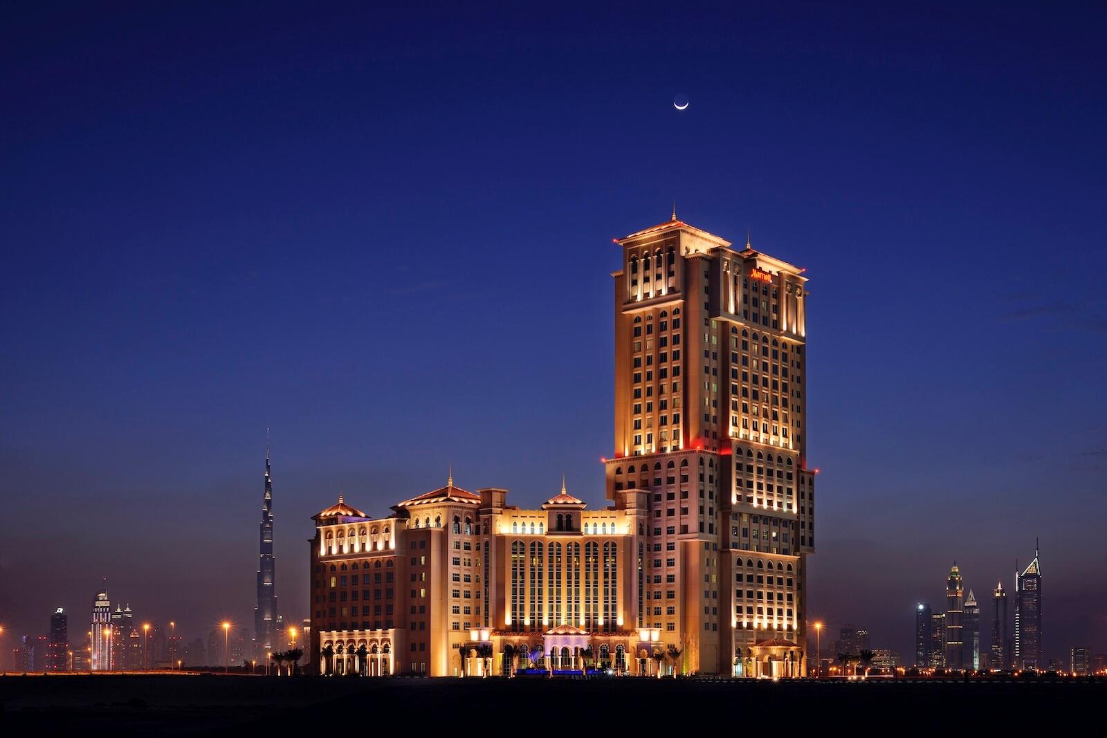 Indoor weddings at Marriott Al Jaddaf in Dubai… { summer promotion }