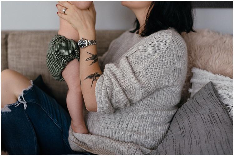 Joelle + Adeline - Chloe Lodge Photography - Mum and Baby Shoot
